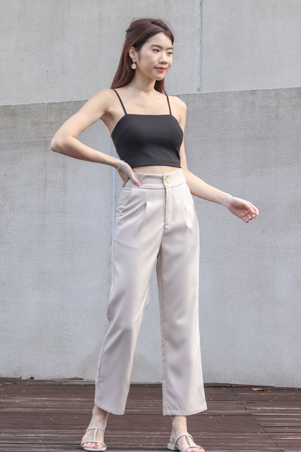 Dallas Straight Cut Pants in Khaki