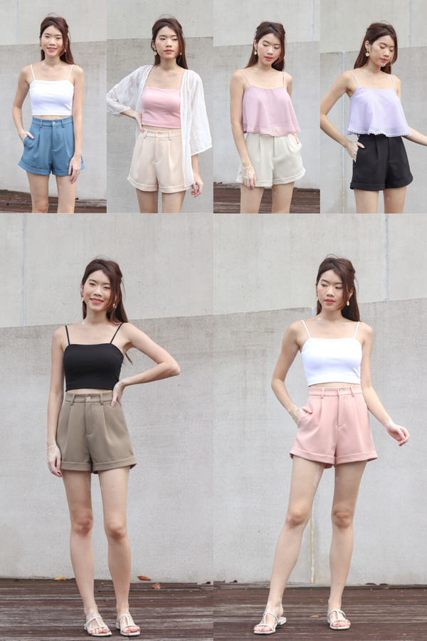 Bundle of Yoda V2 High Waist Shorts in 6 Colours