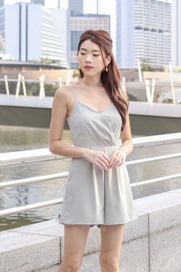 Katelyn Romper in Sage