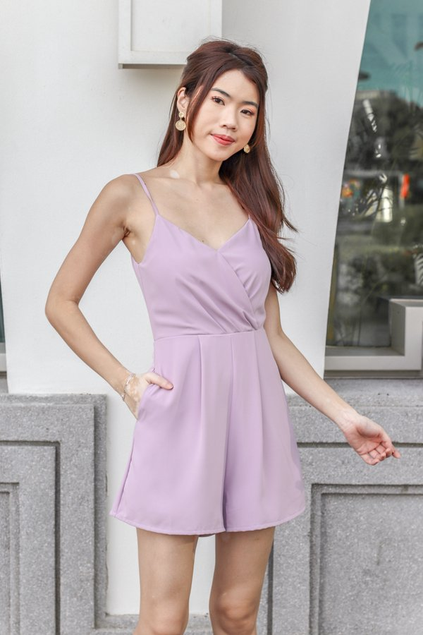 Katelyn Romper in Lilac