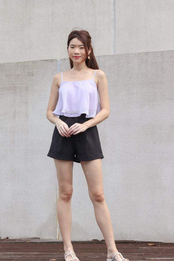 *BACKORDER 2* Yoda V2 High Waist Shorts in Black