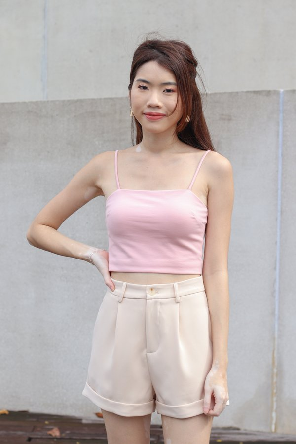 *BACKORDER 2* Yoda V2 High Waist Shorts in Cream