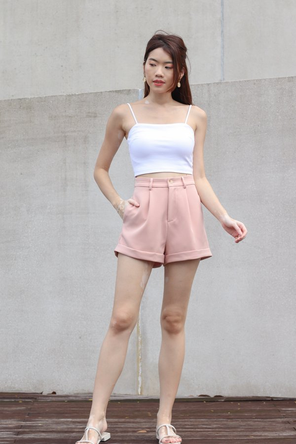 *BACKORDER 2* Yoda V2 High Waist Shorts in Pink