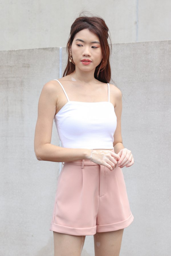 Yoda V2 High Waist Shorts in Pink