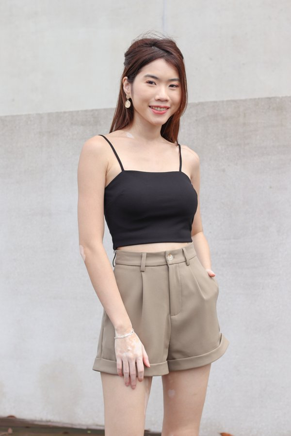*BACKORDER 2* Yoda V2 High Waist Shorts in Olive
