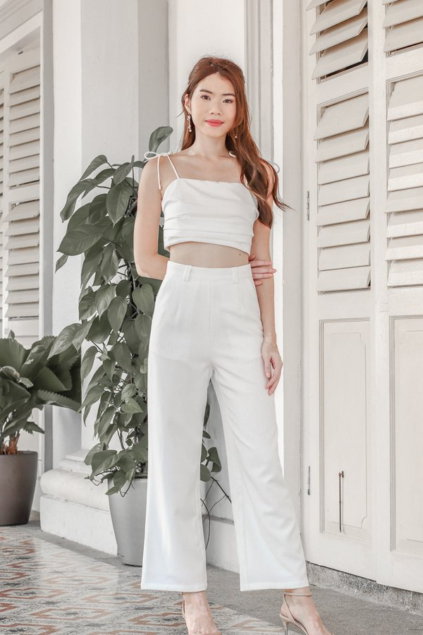 Mackenzie Pants in White