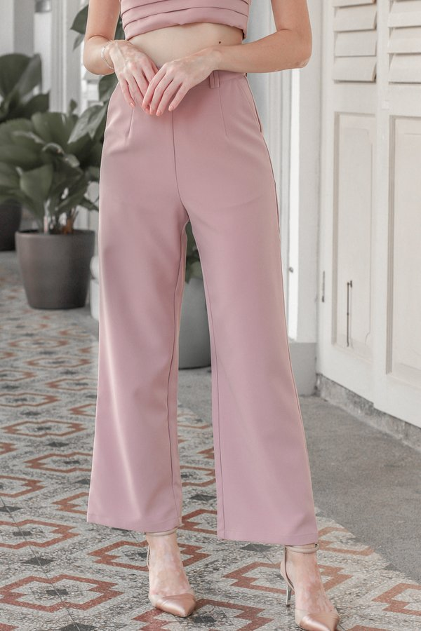 Mackenzie Pants in Dusty Pink