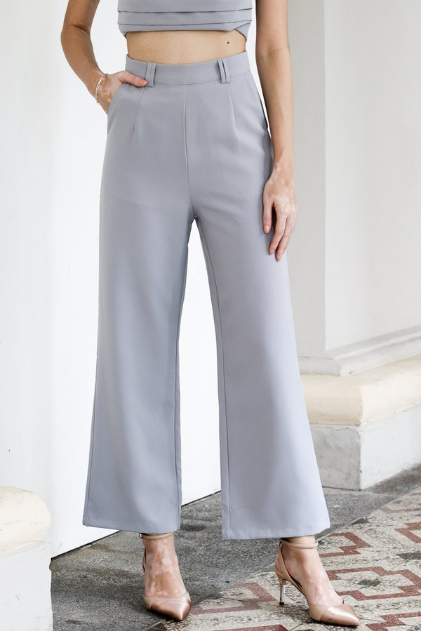 Mackenzie Pants in Greyish Blue