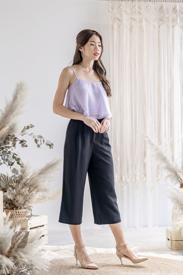 Penelope Culottes in Black