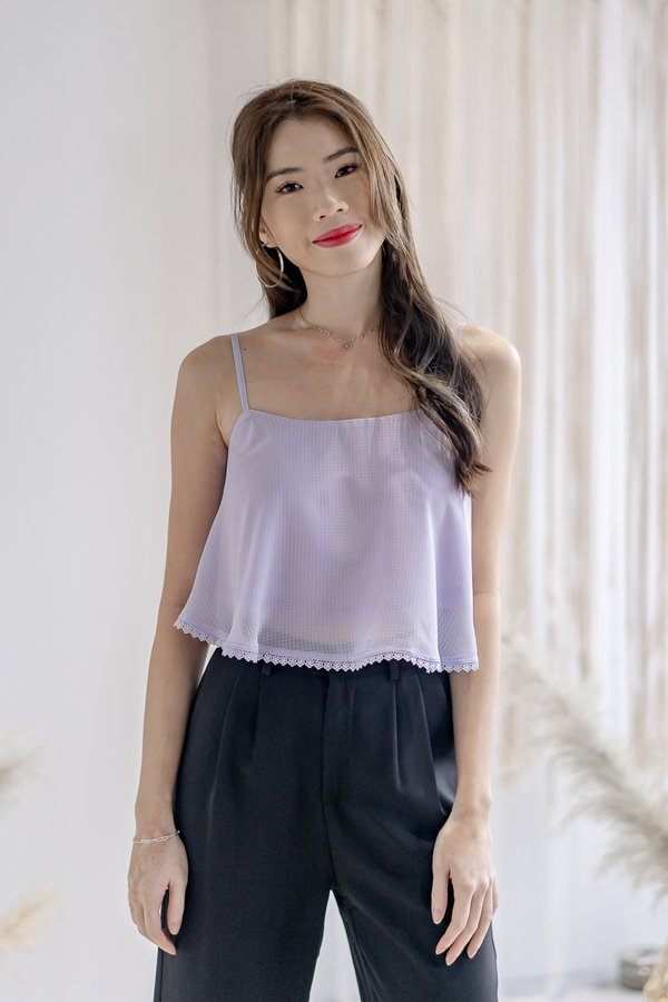 Aurora Top in Lilac