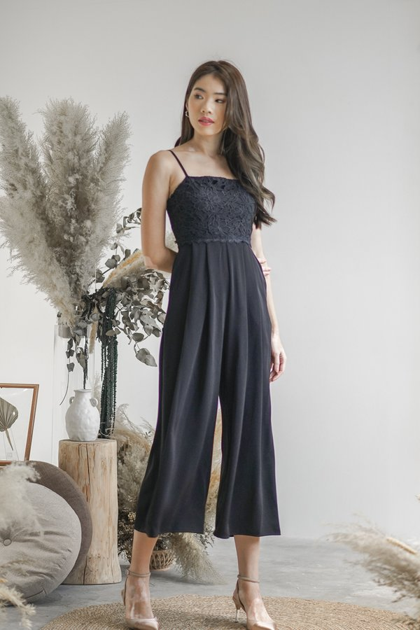 *BACKORDER* Jayla Jumpsuit in Black